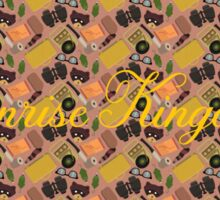 Moonrise Kingdom Pattern Sticker