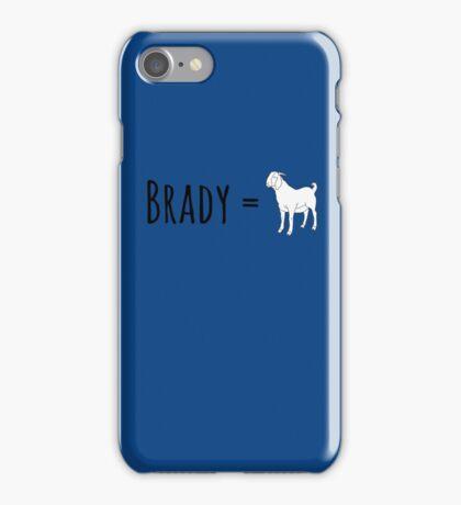 Brady GOAT iPhone Case/Skin