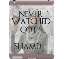 Game of Thrones SHAME! iPad Case/Skin