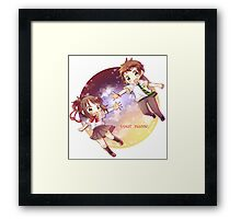 Kimi No Na Wa Mitsuha & Taki Framed Print