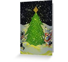 Tree Lighting Greeting Card