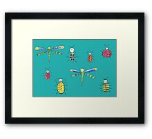 Little insects Framed Print