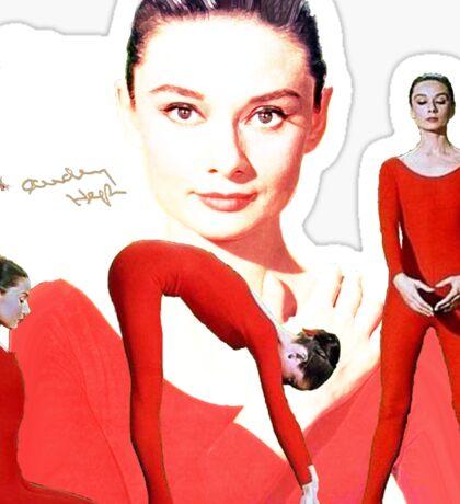 Audrey in Red Sticker
