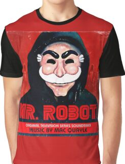 Mr Robot FSociety Graphic T-Shirt
