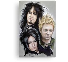 Sixx AM Canvas Print