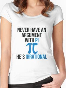 Pi is Irrational Women's Fitted Scoop T-Shirt