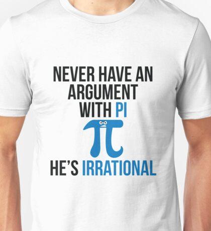 Pi is Irrational Unisex T-Shirt