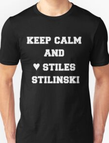 keep calm and ♥ Stiles Stilinski T-Shirt