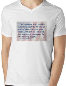 The Stranger in Your Land Mens V-Neck T-Shirt
