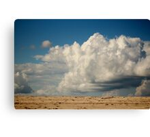 Clouds Touching Earth Canvas Print
