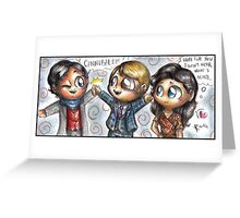 Chibi Hannibal - Alannigram Greeting Card