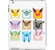 Eeveelutions Grid2 iPad Case/Skin