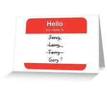 Classic Jerry Greeting Card