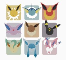 Eeveelutions Grid2 by Lisa Richmond