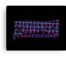 COD: Zombies - Zombies in Spaceland  Canvas Print