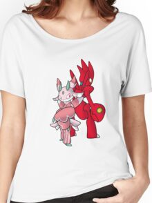 Scizor and Lurantis Women's Relaxed Fit T-Shirt