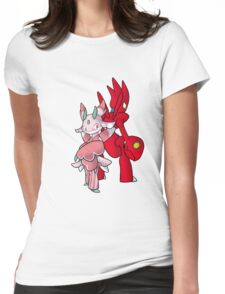 Scizor and Lurantis Womens Fitted T-Shirt