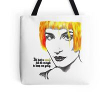 It's just a spark but it's enough to keep me going - Hayley Williams Tote Bag