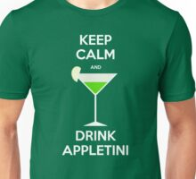 Keep Calm and Drink Appletini Unisex T-Shirt