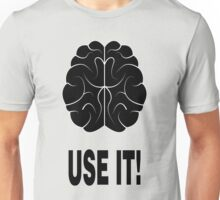 Brain Use It! Nerd Design Unisex T-Shirt