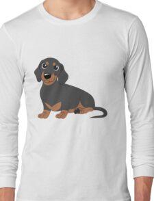 Miniature Dachshund - Black & Tan Long Sleeve T-Shirt