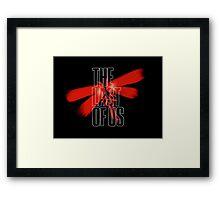The Last of Us - Firefly Graffitti Framed Print