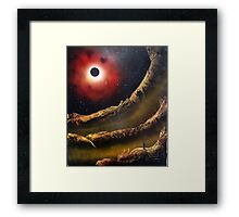 The Eclipse Wizard Framed Print