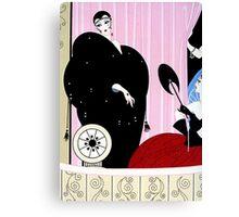 """Art Deco Design by Erte """"Loge de Theatre"""" Canvas Print"""