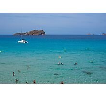 Cala Conta beach (Ibiza) Photographic Print