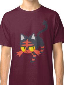 Litten Pokemon Sun and Moon Classic T-Shirt