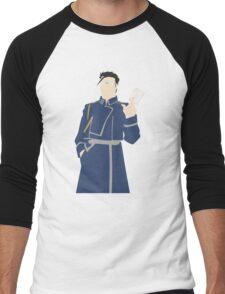 Maes Hughes Anime Manga Shirt Men's Baseball ¾ T-Shirt