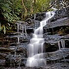 Somersby Top Falls Revisited - Brisbane Water National Park by TonyCrehan