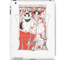 Red Apples & Silver Bells iPad Case/Skin