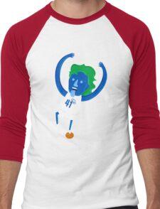 Dirk Nowitzki the Big Nimble German Baller Men's Baseball ¾ T-Shirt