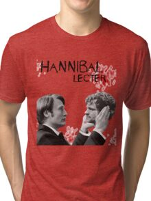 Hannibal Lecter Bloody [To be, or not to be] Tri-blend T-Shirt