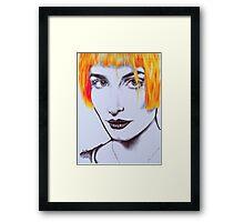 Hayley Williams 02 Framed Print