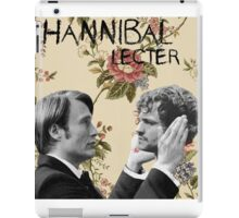 Hannibal Lecter [To be, or not to be] iPad Case/Skin