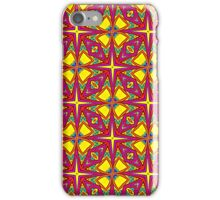 Floral and Star Springtime Print iPhone Case/Skin