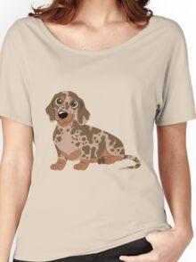 Miniature Dachshund - Dapple Women's Relaxed Fit T-Shirt