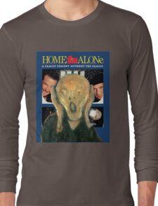 Scream Home - Home Alone Parody Long Sleeve T-Shirt