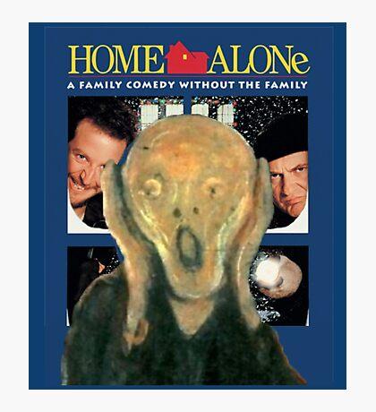 Scream Home - Home Alone Parody Photographic Print