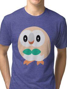 Rowlet Pokemon Sun and Moon Tri-blend T-Shirt