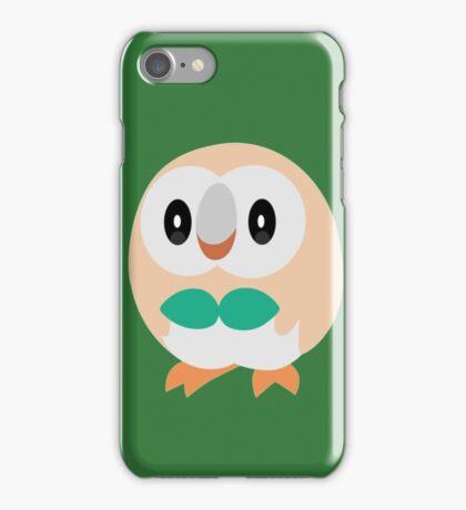 Rowlet Pokemon Sun and Moon iPhone Case/Skin