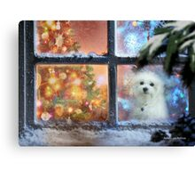 Waiting for Santa ! Canvas Print