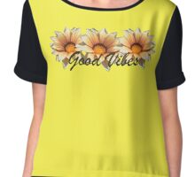 Good Vibes Chiffon Top