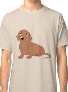 Miniature Dachshund - Tan Classic T-Shirt