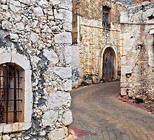 Old Cretan village by Hercules Milas