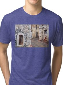 Old Cretan village Tri-blend T-Shirt