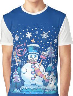 Freezy Winterland Graphic T-Shirt