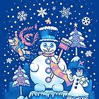 Freezy Winterland by TechraNova